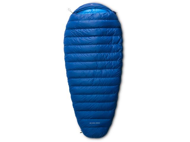 Y by Nordisk Tension Comfort 600 Sac de couchage M, royal blue/methyl blue